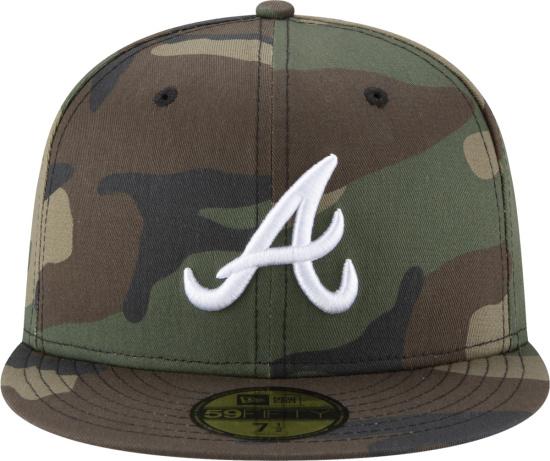 New Era Atlanta Braves Camouflage 59fifty