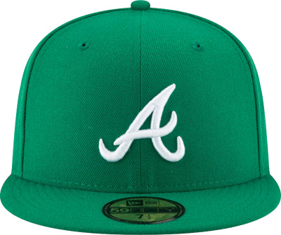 New Era Atlanta Braves Green 59fifty
