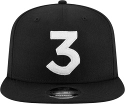 New Era Chance The Rapper Black 3 Hat
