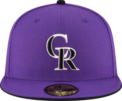 New Era Colorado Rockies Purple 59fifty
