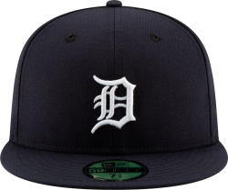 New Era Detroit Tigers Fitted Navy Hat