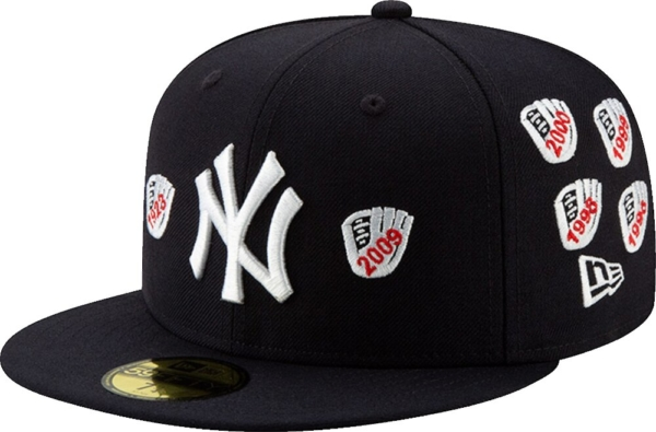 New Era New York Yankees 2009 Championship Patch Hat