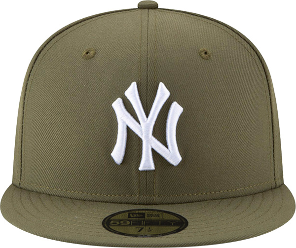New Era New York Yankees Olive Fitted Hat