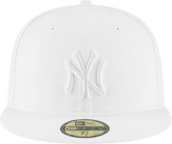 New Era New York Yankees White Fitted Hat