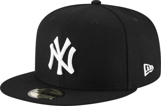 New Era New York Yankess Black Fitted Hat