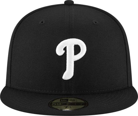 New Era Philadelphia Phillies Black 59fifty