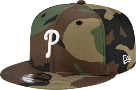 New Era Philadelphia Phillies Camouflage Snapback