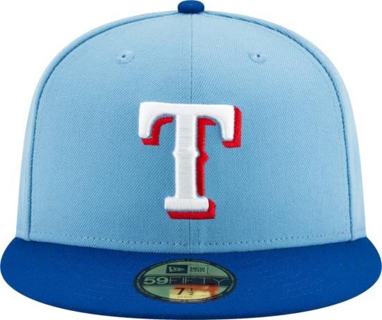 New Era Texas Rangers Light Blue 59fifty