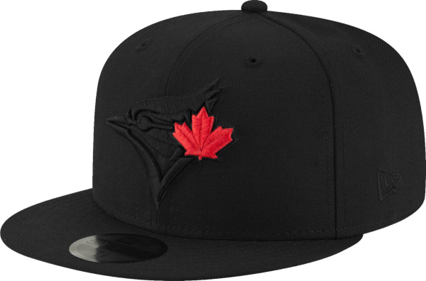 New Era Toronto Blue Jays Black 59fifty Fitted Hat