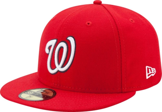 New Era Washington Nations Red 59fifty