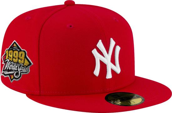 New Era X Hat Club Exlusive Red Yankees Hat