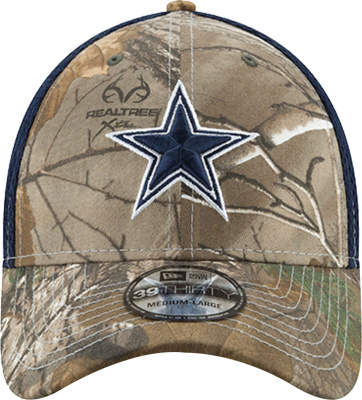 New Era X Realtree Camo Dallas Cowboys Hat
