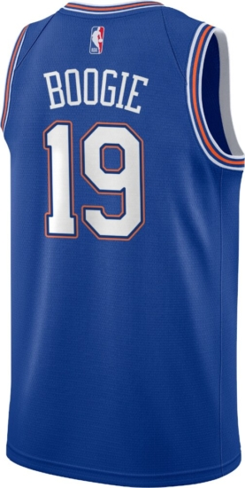 New York Knicks Custom #19 A Boogie Jersey