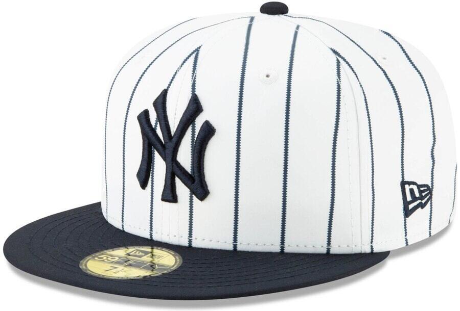 New York Yankees Pinstripe New Era 59fifty Pinstripe Hat
