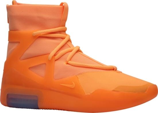 Nike Air Fear Of God 1 'orange Pulse' Sneakers