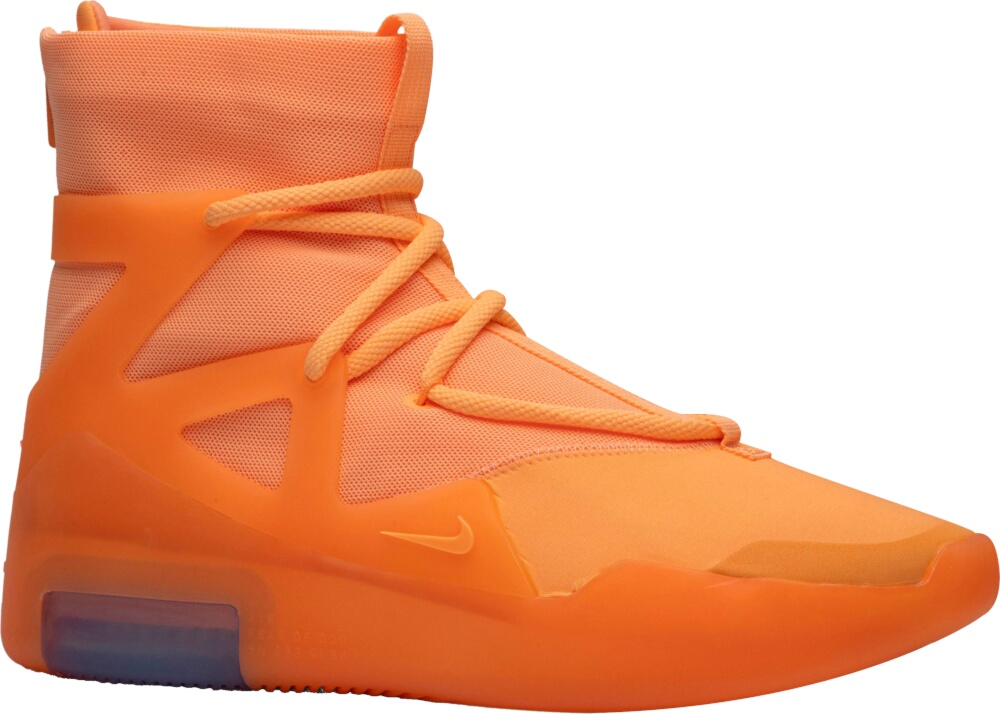 Nike Air Fear Of God 1 'orange Pulse' Sneakers