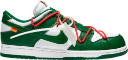Nike x Off-White Dunk Low 'Pine Green'