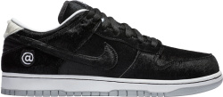 Nike Dunk SB Low x Medicom Toy 'Black Fur'