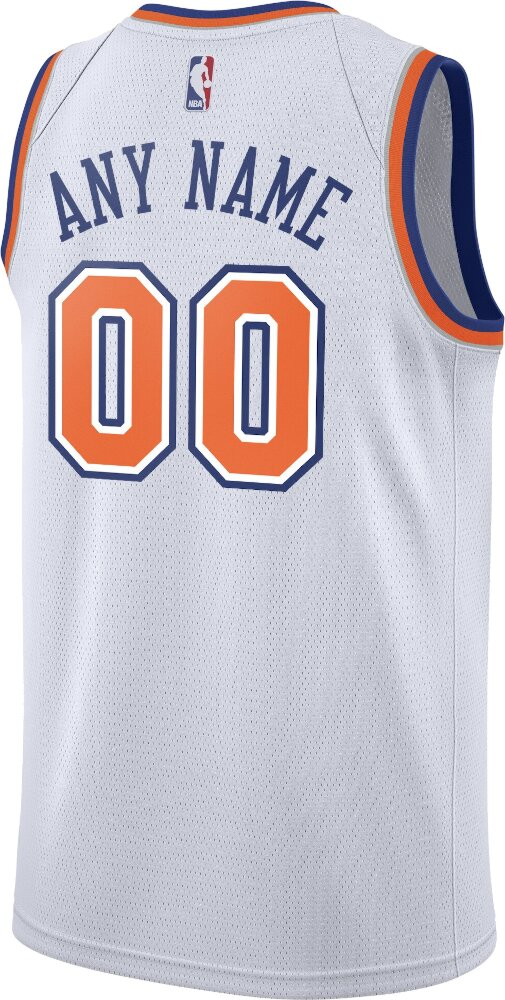 Nike New York Knicks Statment White Jersey