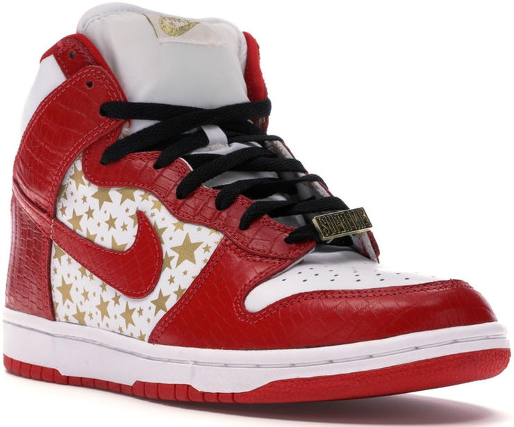 Nike Nike Dunk High Pro Sb Supreme Red Stars