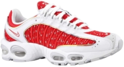 Nike Supreme X Air Max Tailwind 4 'university Red' Sneakers
