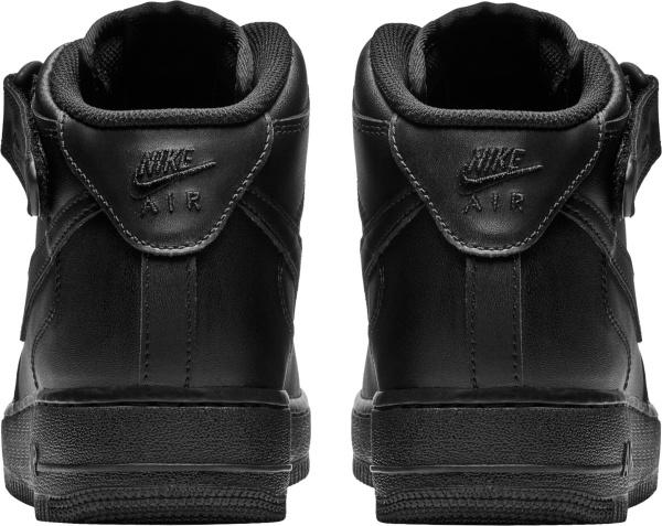Nike Air Force 1 07 Mid Triple Black