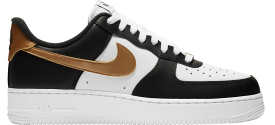 Nike Air Force 1 Low Black Gold