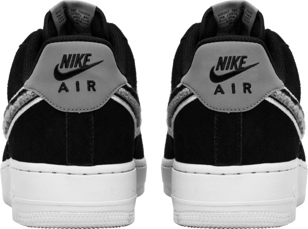 Nike Air Force 1 Low Black Grey And White