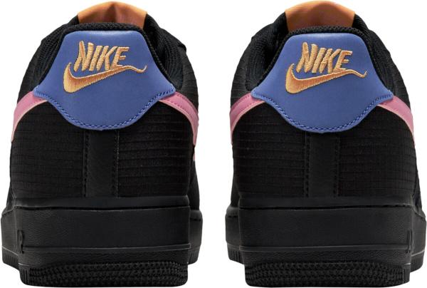 Nike Air Force 1 Low Black Levendar Pink And Orange