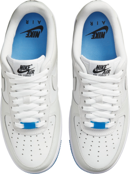 Nike Air Force 1 Low Photochromic White And Blue