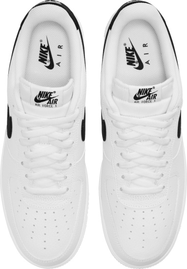 Nike Air Force 1 Low White With Black Swoosh