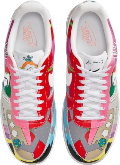 Nike Air Force 1 Low X Rouhan Wang Sneakers