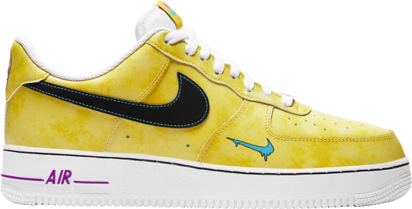 Nike Air Force 1 Low Yellow Tie Dye