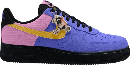 Nike Air Force 1 Lv8 Violet Black And Orange