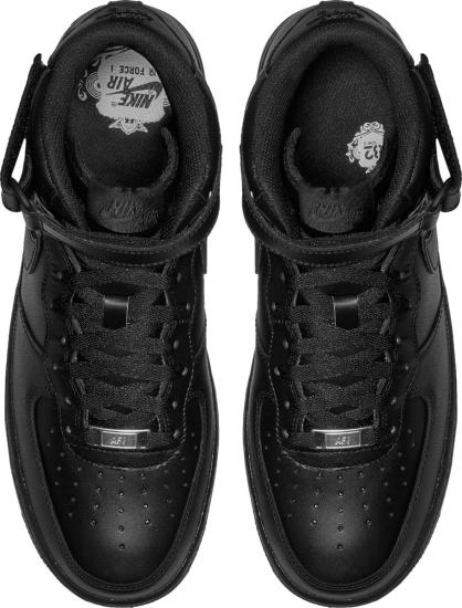 Nike Air Force 1 Mid Black