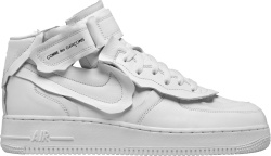 Nike Air Force 1 Mid White Cdg