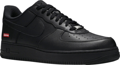 Nike Air Force 1 X Supreme Low Black