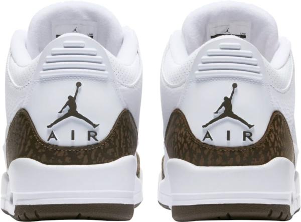 Nike Air Jordan 3 White And Brown