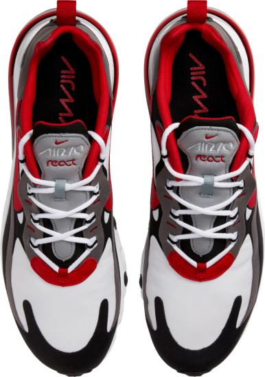 Nike Air Max 270 React White Red Grey Black