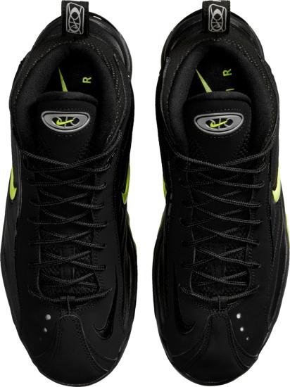 Nike Air Max High Top Black And Volt