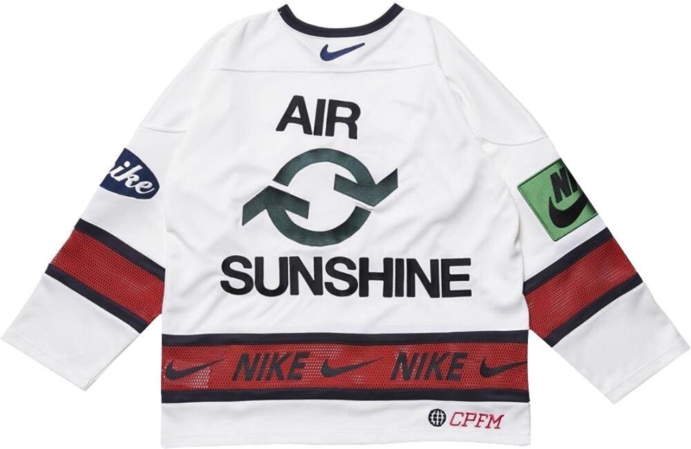 Nike Air White Hockey Jersey