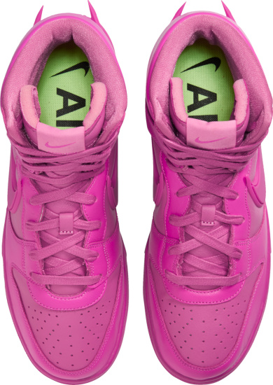 Nike All Pink High Top Dunk Sneakers