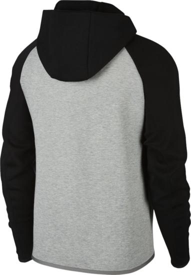 Nike Black And Grey Zip Hoodie
