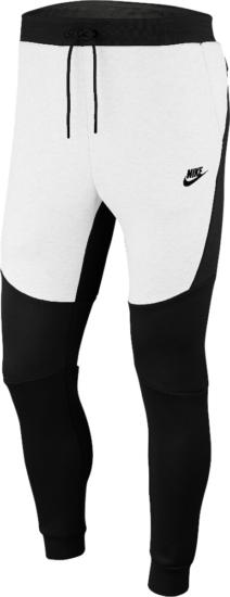 Nike Black And White Sportswear Joggers