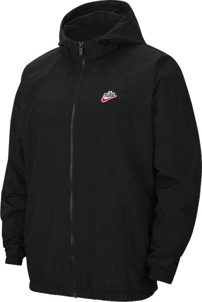 Nike Black Heritage Windrunner Jacket