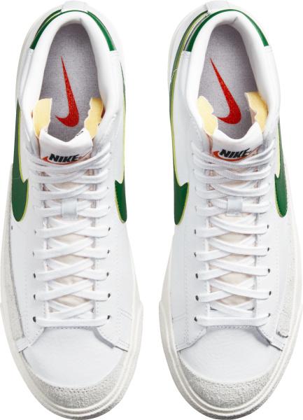 Nike Blazer 77 Mid White And Green