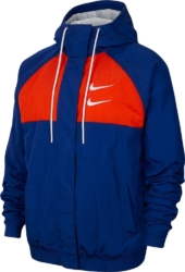 Blue & Red Double Swoosh Jacket