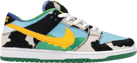 Nike Cow Print Drip Swoosh Sneakers