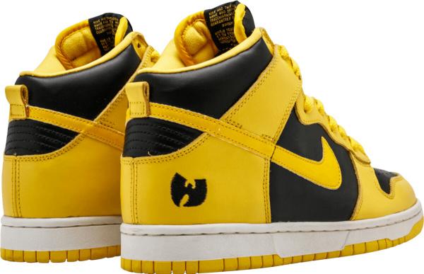 Nike Dunk Black Yellow Wu Tang