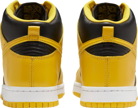 Nike Dunk High Black And Yellow Sneakers